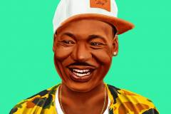 Martin Luther King  by Amit Shimoni.